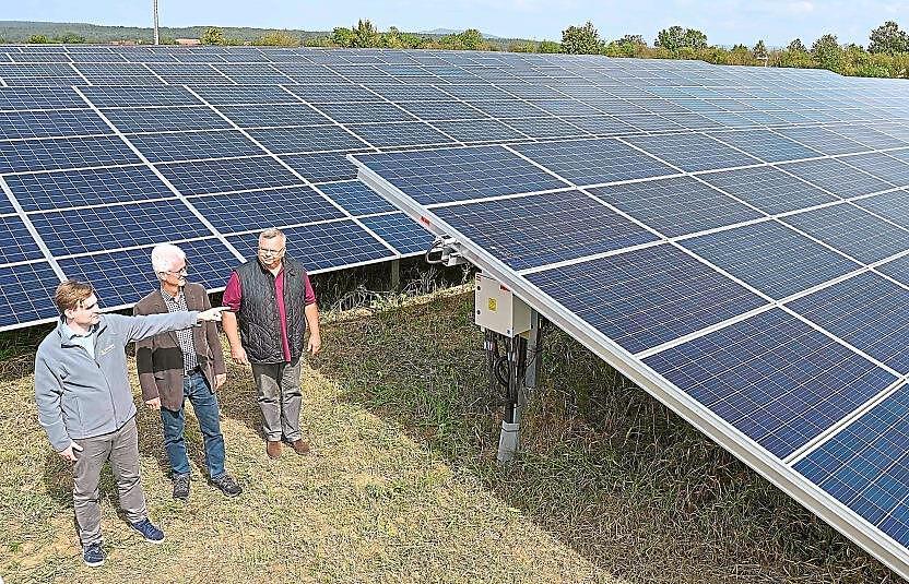 Begehung Photovoltaikanlage Pierheim