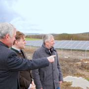 Begehung Photovoltaikanlage Ebern-Fischbach