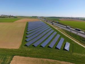 Photovoltaikanlage Biebelried, Bayern