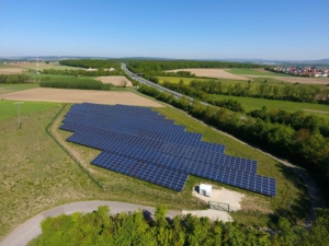 Photovoltaikanlage Knetzgau, Bayern